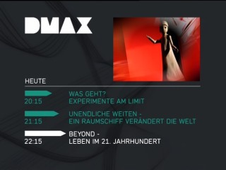 01/09/06: DMAX has started regular broadcasting,